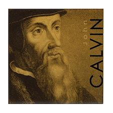 John Calvin - Protestant Reformer (Tile Coaster)