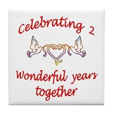 Cute Special occasions Tile Coaster