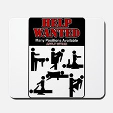 Help Wanted Mousepad