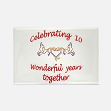 ANNIVERSARY Rectangle Magnet