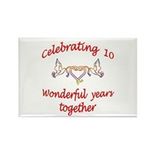 ANNIVERSARY Rectangle Magnet (100 pack)
