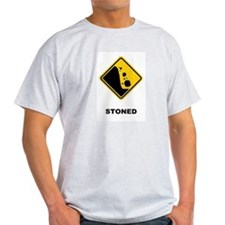 Stoned Ash Grey T-Shirt