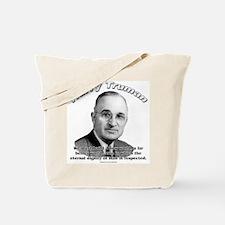 Harry Truman 01 Tote Bag