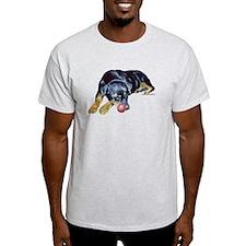 Rottweiller with Ball T-Shirt