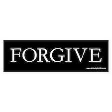 Forgive Bumper Bumper Sticker