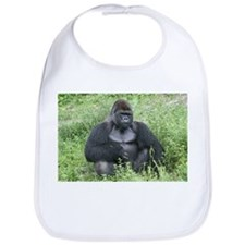 Cute Love monkey Bib