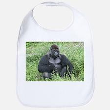 Cute Gorillas Bib