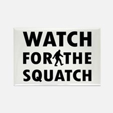 Watch Squatch Rectangle Magnet