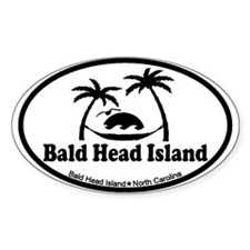 Bald Head Island NC - Sun and Palm Trees Design St