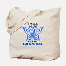 I Wear Blue for my Grandma Tote Bag