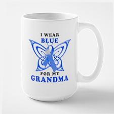 I Wear Blue for my Grandma Mug