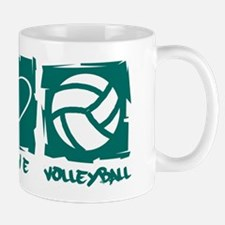 Peace.Love.Volleyball Mug