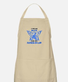 I Wear Blue for my Father-In-Law Apron