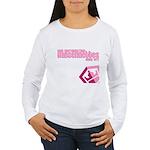 Hansennettes Crest Women's Long Sleeve T-Shirt