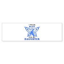 I Wear Blue for my Daughter Bumper Sticker