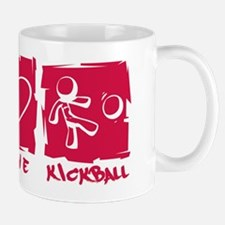 Peace.Love.Kickball Mug