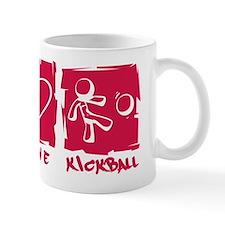 Peace.Love.Kickball Mug