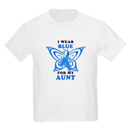 I Wear Blue for my Aunt Kids Light T-Shirt