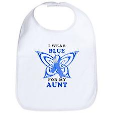 I Wear Blue for my Aunt Bib