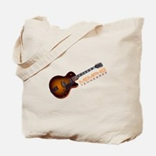 Memphis Guitar Tote Bag