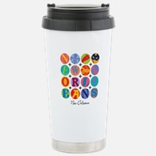 New Orleans Nawlins Themes Travel Mug
