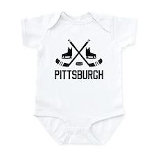 Pittsburgh Hockey Infant Bodysuit