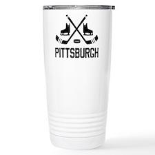 Pittsburgh Hockey Travel Mug