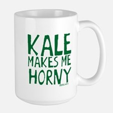 Kale Makes Me Horny Large Mug