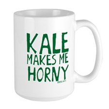 Kale Makes Me Horny Mug