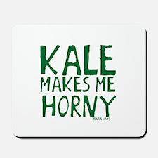 Kale Makes Me Horny Mousepad