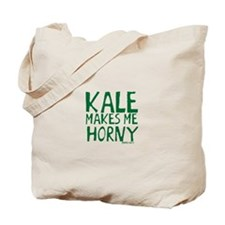 Kale Makes Me Horny Tote Bag