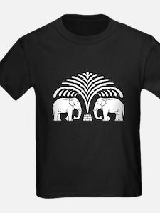 Elephants under Tree T