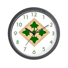 Fourth ID Wall Clock