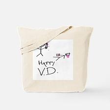 Happy V.d. Tote Bag