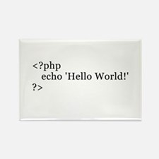 Cute Php Rectangle Magnet (10 pack)