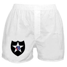 2nd Infantry Division Boxer Shorts