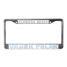 Vasek Polak License Plate Frame