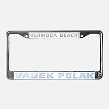 Vasek Polak License Plate Frame