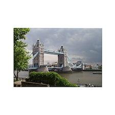 Tower Bridge - London Rectangle Magnet