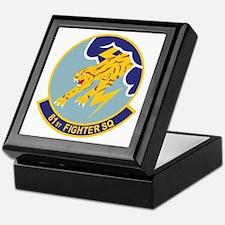 81st Fighter Squadron Keepsake Box