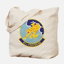 81st Fighter Squadron Tote Bag
