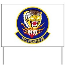 79th Fighter Squadron Yard Sign