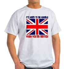 British English Pride Ash Grey T-Shirt