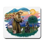 St Francis #2/ B Shepherd Mousepad