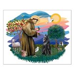 St Francis #2/ B Shepherd Small Poster