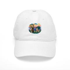St Francis #2/ Bull Mastiff Baseball Cap