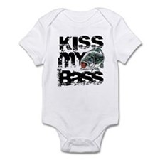Kiss My Bass Onesie