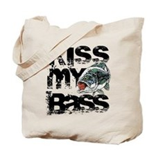 Kiss My Bass Tote Bag