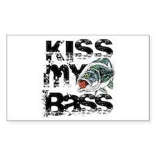 Kiss My Bass Decal