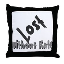 Lost Kate Throw Pillow
